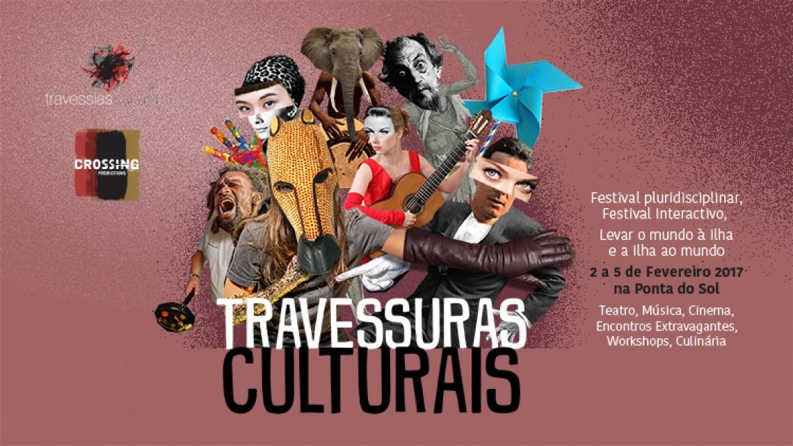 Travessias Culturais apresenta TRAVESSURAS CULTURAIS